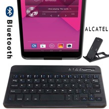 Slim Portable Wireless Bluetooth Keyboard for Alcatel 1T 7/3T 8/A30/OneTouch POP 7 7S/PIXI 3/Pixi 7/POP 4/Pixi 4 Tablet Laptop
