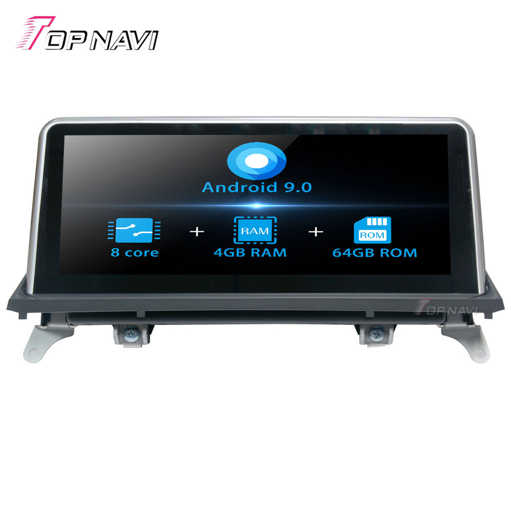 Android 9.0 Octa Core New Car Player For <font><b>BMW</b></font> <font><b>X5</b></font> <font><b>E70</b></font> F15 F85(2007-2010) X6 E71 F16 F86(2007-2010) Stereo Auto GPS Navigation Wifi image