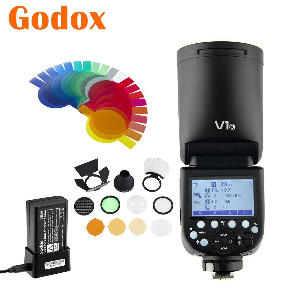 Godox V1O V1-O 2,4G TTL HSS Камера синхроконтакта разъем для внешней вспышки типа X1T-O X2T-O электронных сигарет, Современная замена, XPro-O вспышка триггера ...