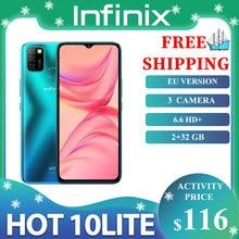 Infinix quente 10 lite smartphone 6.6