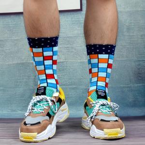 Image 4 - SANZETTI Calcetines de algodón peinado para hombre, calcetín, ropa estilo informal, 12 pares por lote