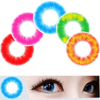 Boundless Fire Beauty Corner Women Cospaly Contact Lens Soft Men Student Colored Halloween Contact Lens for Men Women image