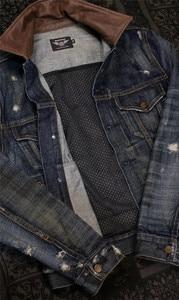 Image 4 - UGLYBROS UBJ 121 vintage classic デニムジャケットオートバイ保護ジャケットオートバイの tシャツ