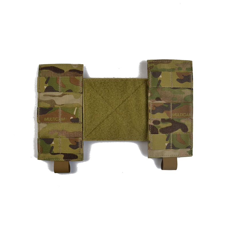 Delustered 1 Pair / 2 Pieces Chassis MK3 Chest Rig MFC 2.0 Molle Side Wings Panel Platform Set TW-L003