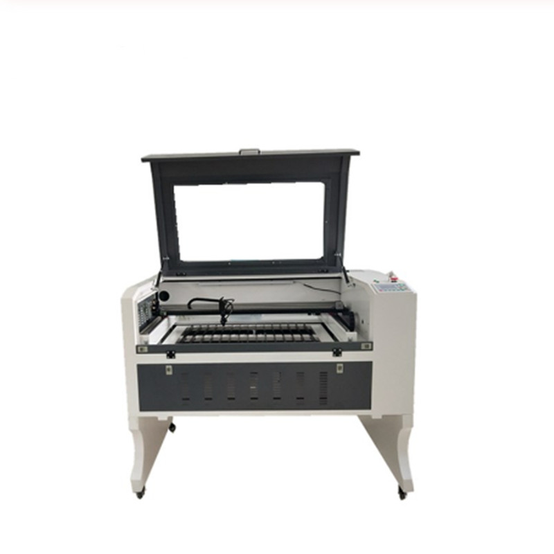600*900 9060 100w Ruida System Shipping To Russia Cnc Router Acrylic Plywood Glass Laser Engraver Machine Desktop
