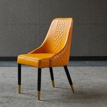Деревянный светильник в скандинавском стиле для обеденного стула, роскошная модель постмодерна, обеденный стол и стул, комбинированный ресторанный стул для приема