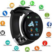D18 Fashion Smart Watch Blood Pressure Heart Rate Health Tes