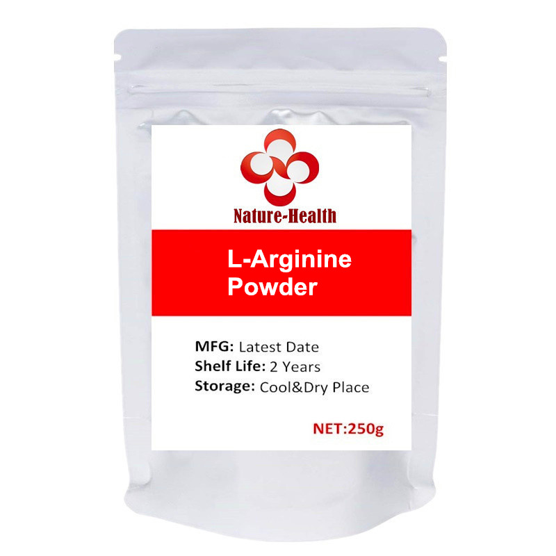 L-Arginine Powder Healthy Blood Pressure, Protein Synthesis and Strength Building image