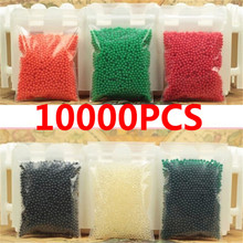 10000 Pcs multicolor Crystal Mud Hydrogel Soil Outdoor Water Beads Vase Grow Magic Balls Kids Toy Home wholesale