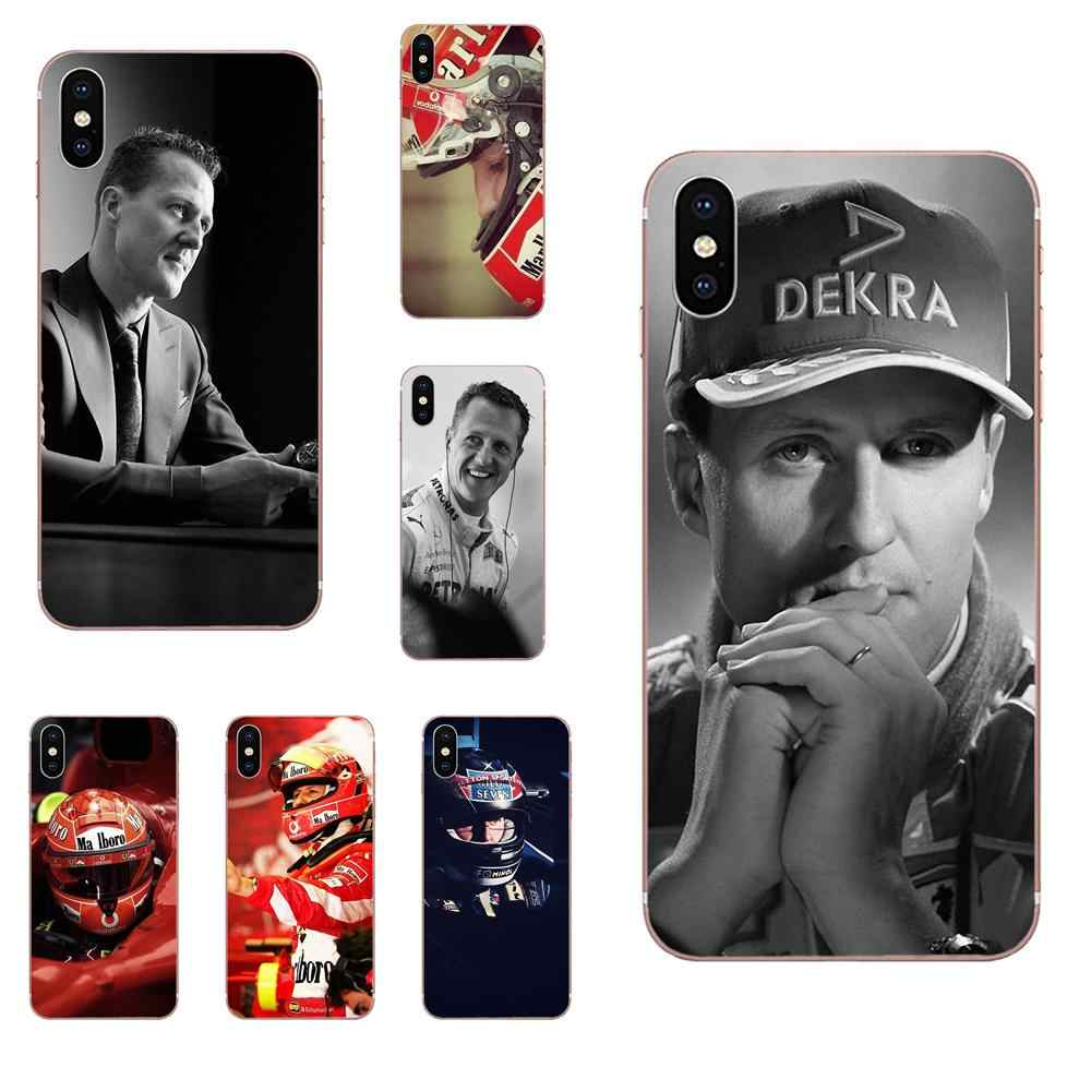 Michael Schumacher Soft Cover For Apple Iphone 4 4s 5 5c 5s Se Se2020 6 6s 7 8 11 Plus Pro X Xs Max Xr Phone Case Covers Aliexpress