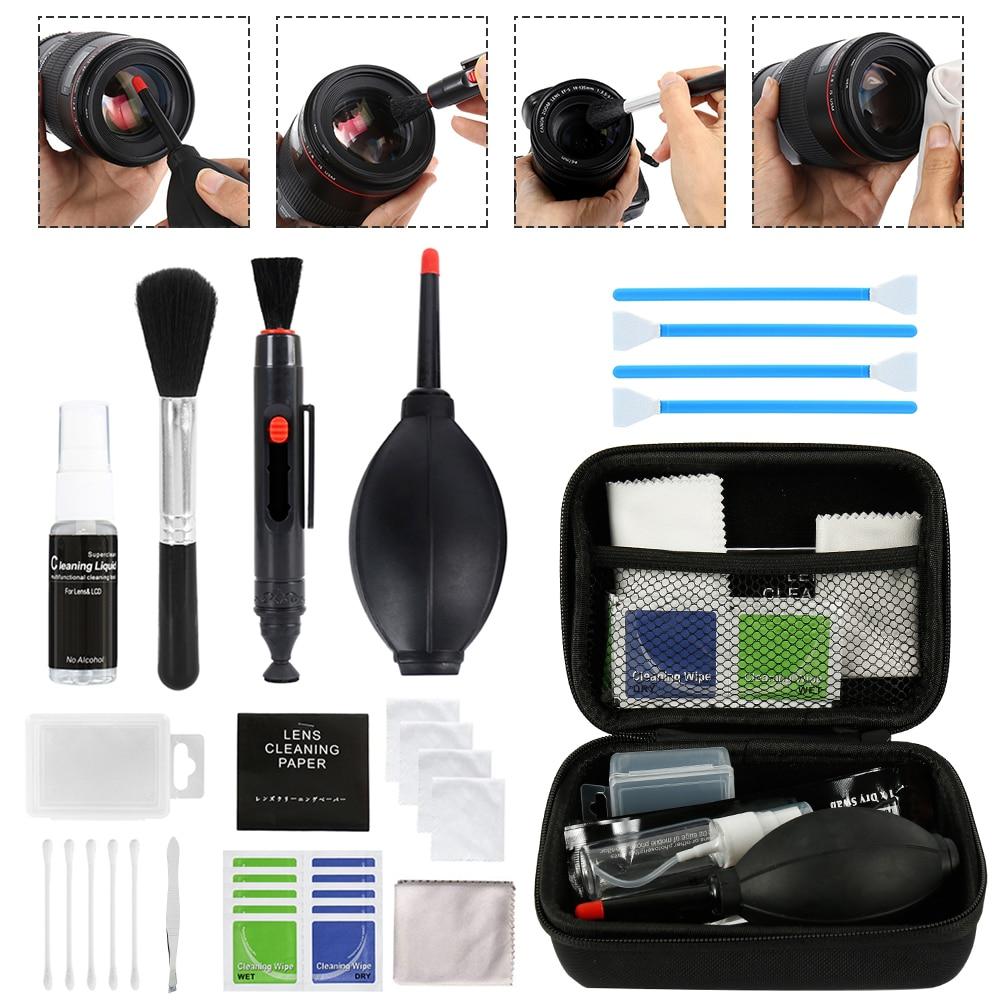 Camera-Cleaner-Kit Sensor Cameras Dslr-Lens Nikon Fujifilm Sony Canon 46pcs for DV
