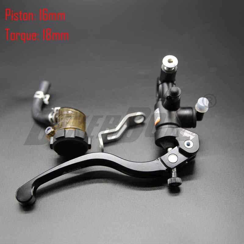 オートバイ 16 × 18 ブレーキ Adelin マスターシリンダー油圧ブレーキクラッチポンプレバーハンドルヤマハ