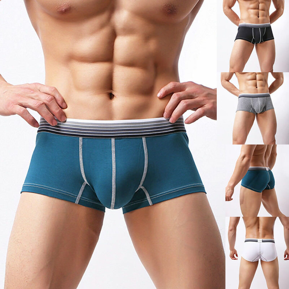 Men's Underwear Comfortable Cotton Men's Boxer Beathable Fashion Tide Male Boxer Pants Men's Underwear