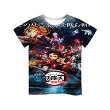 3d kids t shirt 2020 hot anime demon slayer kimetsu no yaiba