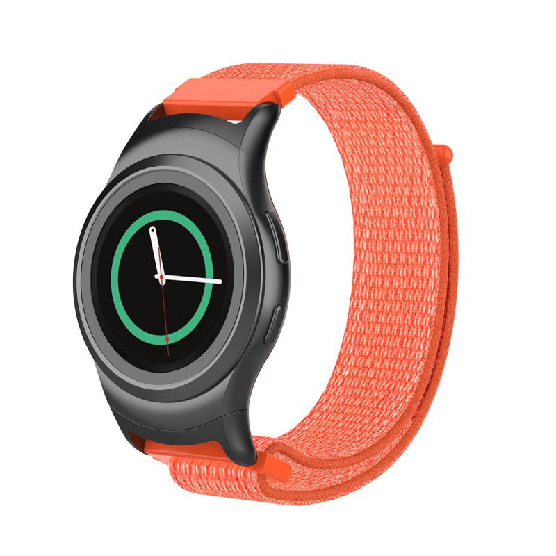 Sports Breathable Water absorbed Braided Watchband Watch Strap Replacement For Samsung Gear S2 R720 R730 Sport Smartwatches in Smart Accessories from Consumer Electronics