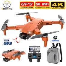 Drone Pro L900 5G GPS 4K avec caméra HD, moteur sans balais, quadricoptère Rc, Distance de 1.2km, Transmission en temps réel, Drone professionnel