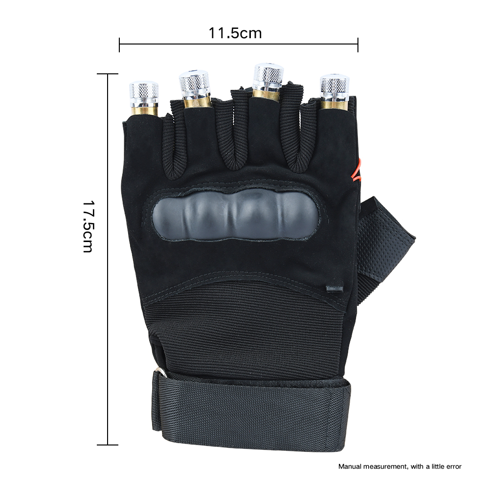 Image 3 - Red Green Purple  Laser Gloves Dancing Stage gloves laser Palm Light For DJ Club/Party/Bars Stage finger Light  Personal props-in Novelty Lighting from Lights & Lighting
