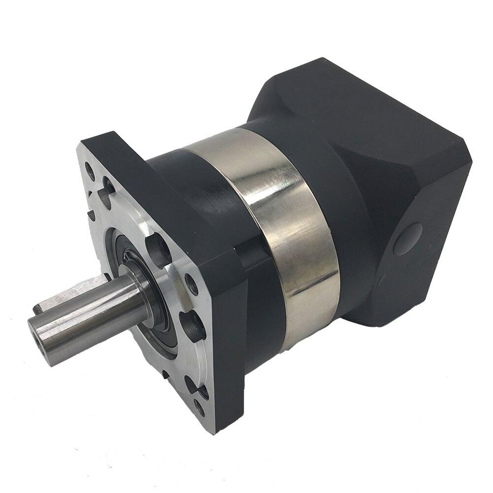NEMA32 12:1 Speed Ratio 80mm Planetary Reducer High Precision Gearbox Reducer 6000rpm for Servo Motor CNC