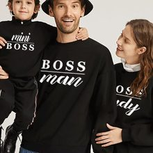 Family Christmas Clothing Sweaters Hoodies Outfits-Look Mommy Son Me And Kids New-Year
