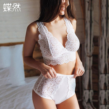 Bikini For Products Sexy Women Lingerie Lace Bra Underwear Sleepwear G-String Women Nursing Pyjama Pants Bra Set Intimates