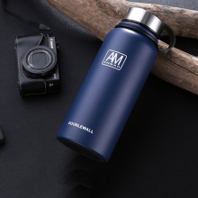 2019 NEW Russian Premium Travel Stainless Steel Thermo Portable  thermo Water Bottle Tea Mug Thermocup With Rope