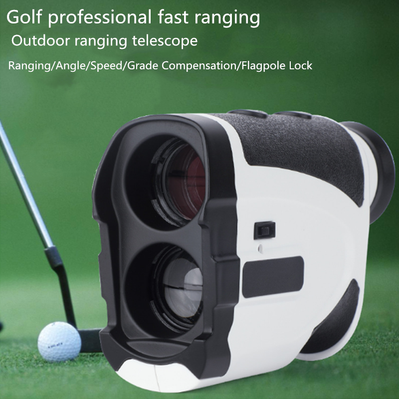 Laser rangefinder hunting 1000m telescope rangefinder golf HD handheld monocular rangefinder angle measurement tool 1