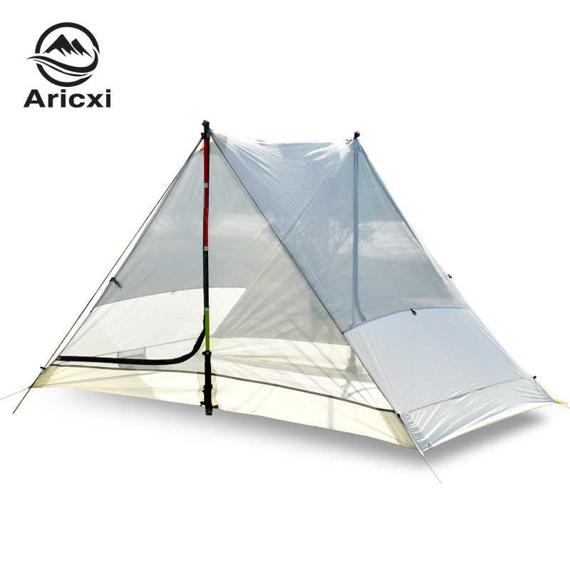 Nowy namiot kempingowy Aricxi light 2 Outdoor Ultralight 2 osoba profesjonalny namiot sztoku 15D Silnylon