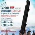 Golooloo 4 Células Bateria Do Portátil Para TOSHIBA Satellite C50 C55 PA5185U-1BRS L55T C55D C55T L55 L55D PA5185U Series