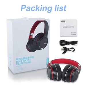 Image 5 - Lenovo Headphone Wireless Bluetooth 5.0 Headset Intelligent Noise Reduction HIFI Sound Effect 40MM Big Horn Super Bass with Mic