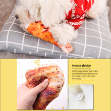 2021 New Fashion Dog Chew Toy Stuff Bite Resistant Plush Toys Vegetable for Puppy Small Large Dog Pet Accessories Supplies