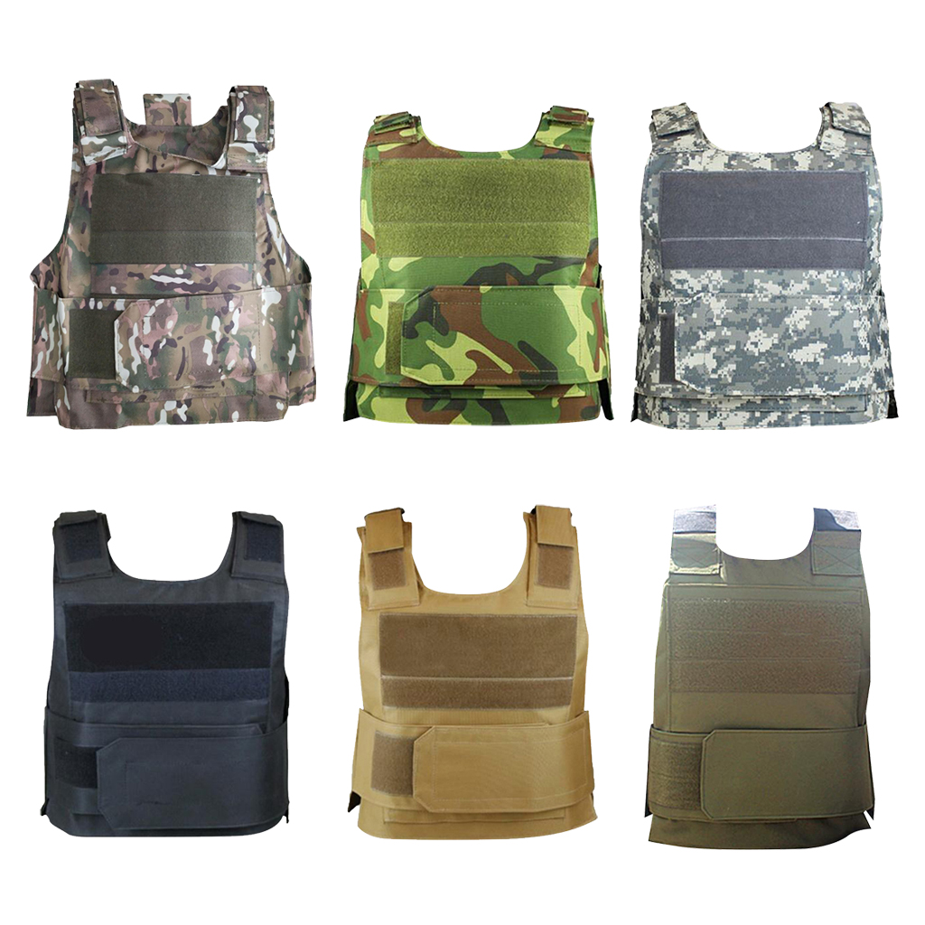 Oxford Tactical Vest Outdoor Ultra-Light Breathable Combat Training Vest Adjustable Horse Riding Vest Safety for Adults