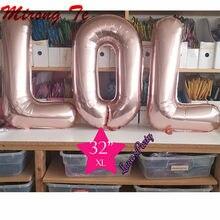 3Pc 16/30Inch Lol Brief Alfabet Folie Ballon Baby Shower Gift Speelgoed Lucht Bal Verjaardagsfeestje Decoraties globos