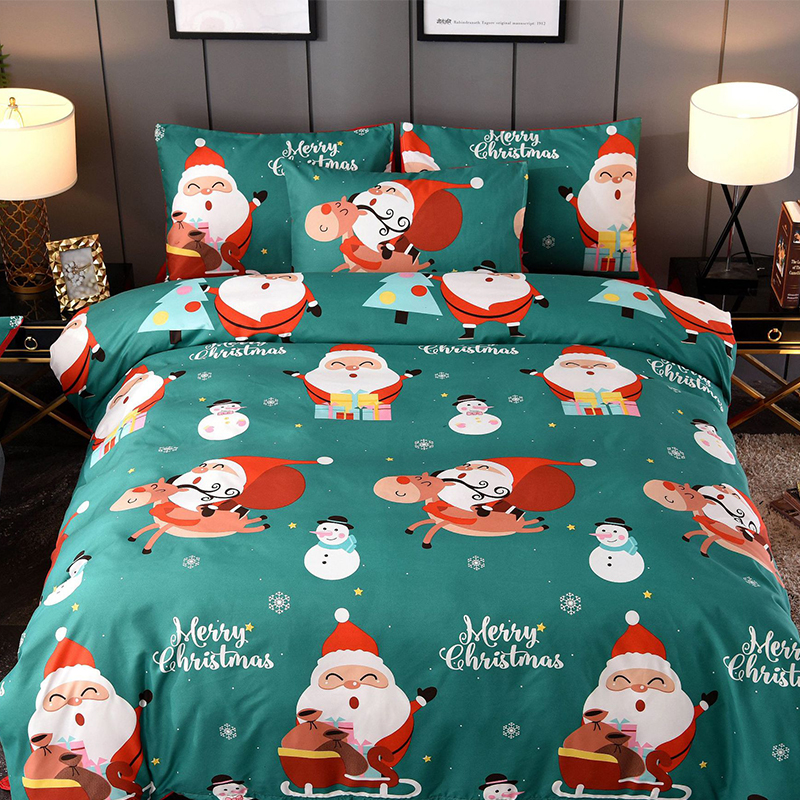 Lanke Christmas Bedding Sets, Home Textile Twin King Queen Size Bed Set  Duvet Cover Pillowcases
