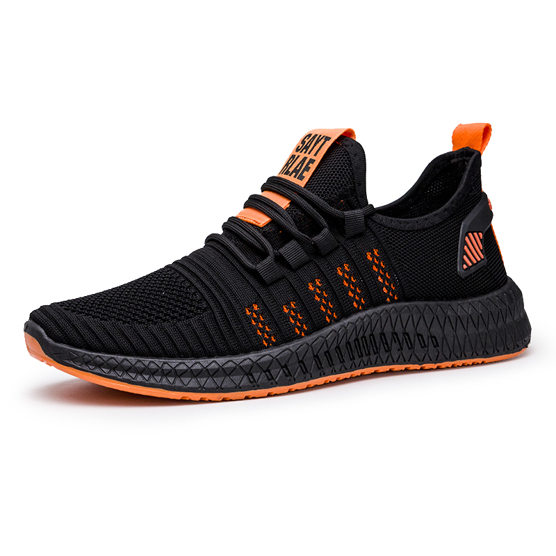 2020 Men Shoes Sneakers Lightweight  Breathable Mesh Men Mesh Comfortable Sport Mens Casual Shoes Hot Sale Non-slip Classic