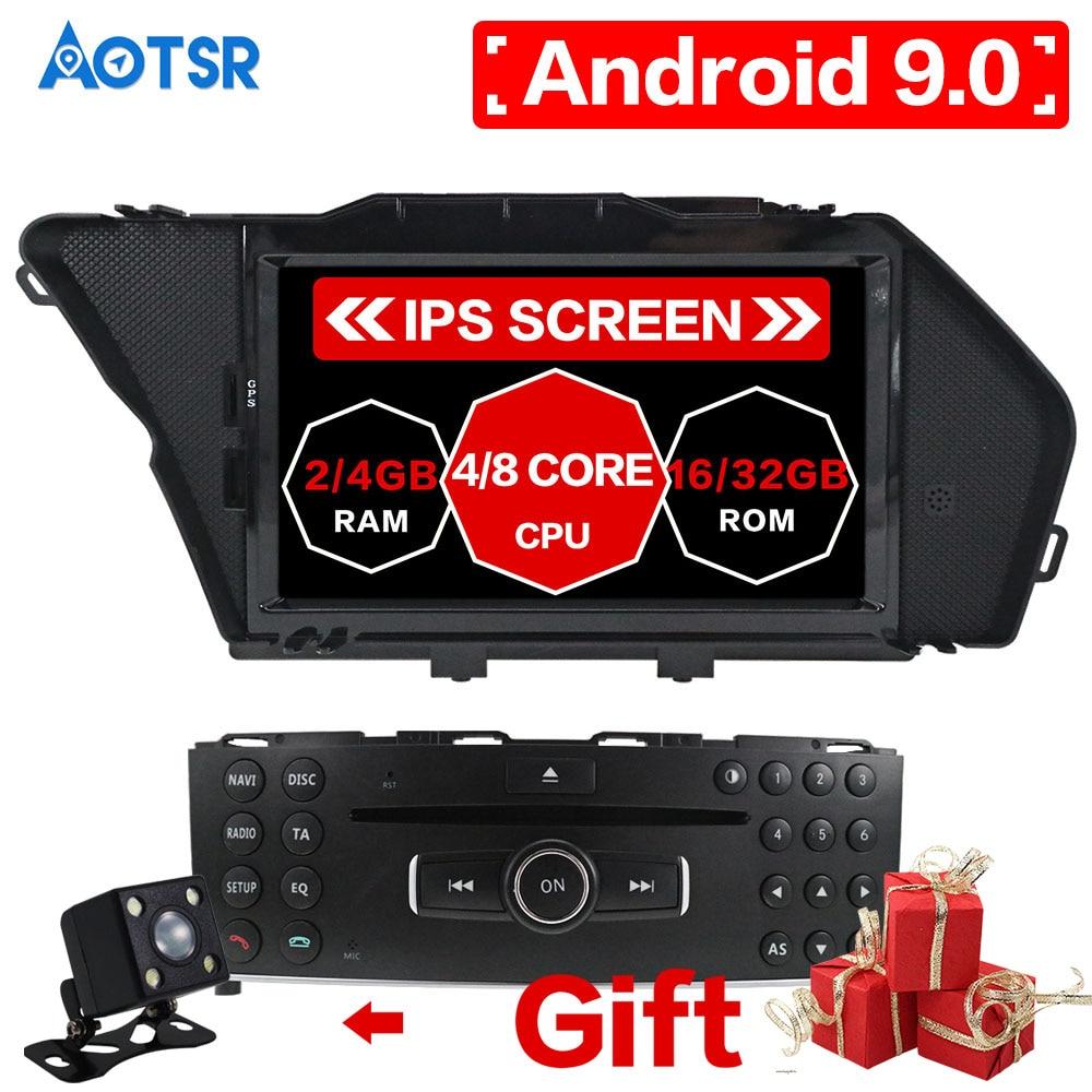 Android 10.0 Car DVD Player car gps navigation For Mercedes-Benz GLK GLK-Class X204 2008-2010 video radio head unit media player