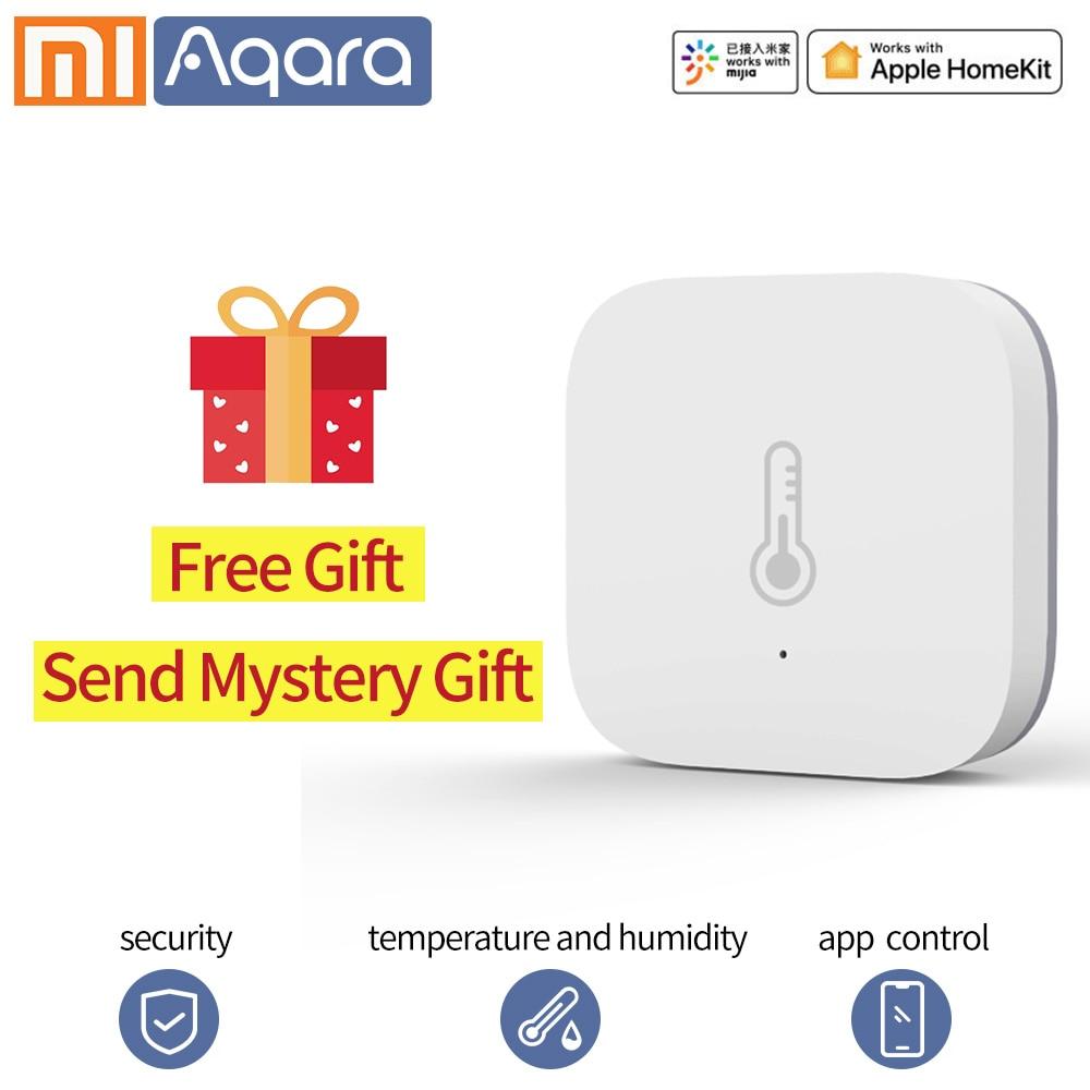 Aqara Thermostat Wifi Temperature Sensor Air Pressure Humidity Zigbee Sensor For Xiaomi Homekit Zigbee Sensor Smart Home Mi Home