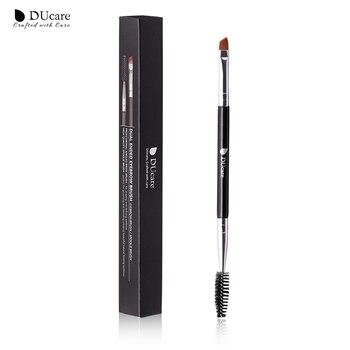 DUcare Eyebrow Brush+Eyebrow Comb beauty eyebrow brush professional makeup brushes for eye Brow Brush blending eye MakeUp Tools 1