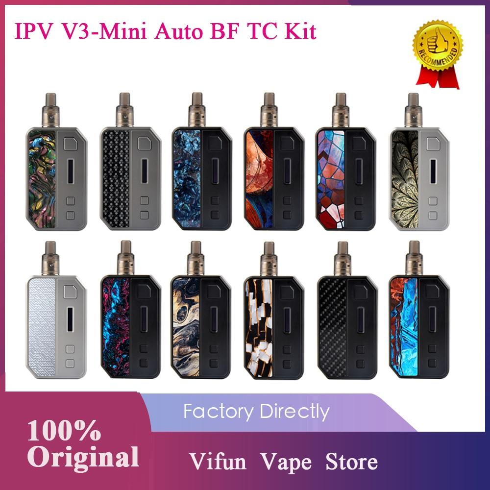 Original IPV V3 Mini TC Kit With YiHi SX635J Chipset & 1400mAh Battery & Elf ADA Tank & Auto Squonk Kit Vs Drag 2/ Vinci Mod Kit
