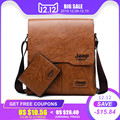Conjunto de bolsos de mano para hombre, JEEP BULUO, nuevo y famoso bolso de mensajero de cuero para hombre, bolso de negocios cruzado para hombre