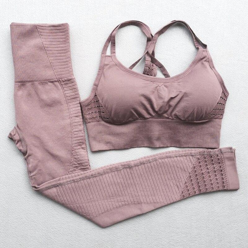H8d477fb23f63494bac734b24e9e27042L - Seamless Yoga outfit