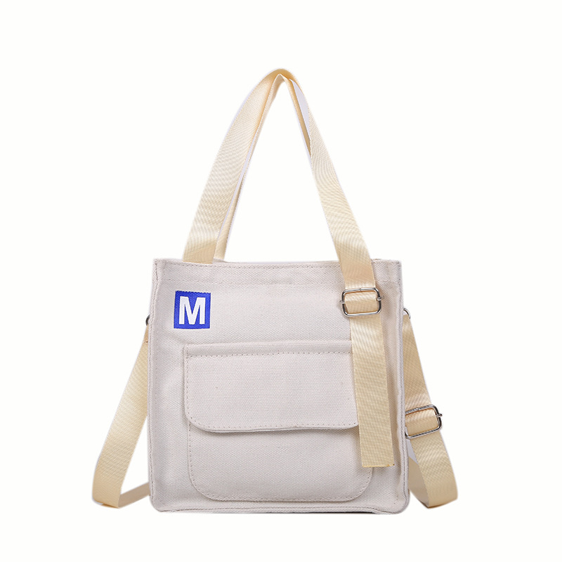 Canvas Japanese Small Fresh Casual Shoulder Bag Simple Portable Messenger 2019 New  Ladies Hand Bags