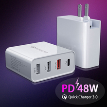 Quick-Charger Tablet Au-Plug-Adapter Type-C Huawei iPhone Samsung PD Qc 3.0 48W for Fast