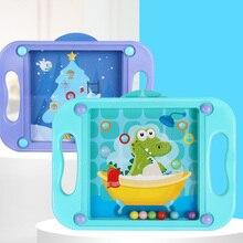 3D Детские развивающие игрушки для детей детские головоломки Монтессори лабиринт баланс игры популярный подарок для малышей от 2 до 4 лет мультфильм карты