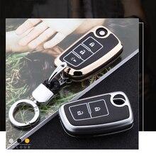 цена на Zinc alloy+Luminous Leather Car Key Cover Case For Nissan Qashqai X-trail Murano Maxima Altima Geniss Juke Micra Livina Tiida