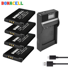 цена на Bonacell NB-11L Battery + LCD Charger for Canon PowerShot ELPH 110 HS A2300 A2500 A3500 IS A2300 140 IS 150 IS 34 Digital Camera
