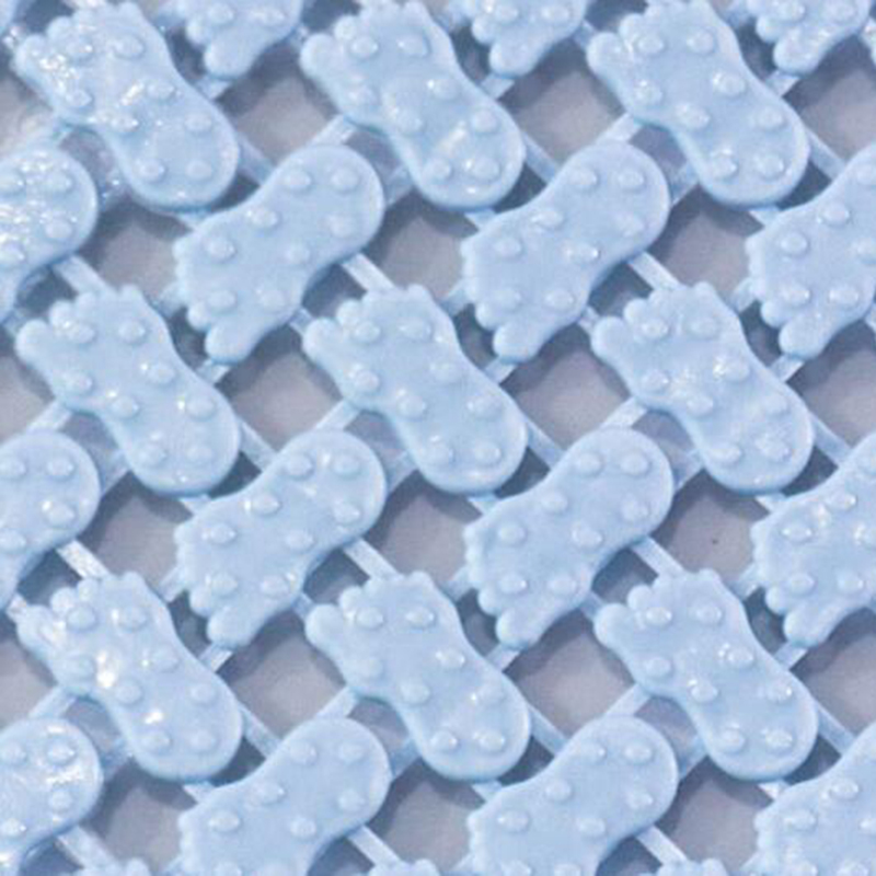 25*25cm Bathroom Anti-Skid Mat Plastic Floor Mat Kitchen Bathroom Carpet Toilet Bath Mat DIY Shower Bath Carpet Rug Door Mat 3