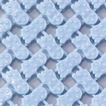 25*25cm Bathroom Anti-Skid Mat Plastic Floor Mat Kitchen Bathroom Carpet Toilet Bath Mat DIY Shower Bath Carpet Rug Door Mat 8