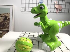 Image 3 - Dinossauro robô brinquedos interativos robô de controle remoto robótico spary dinossauro multifuncional música dança brinquedos rádio controlado