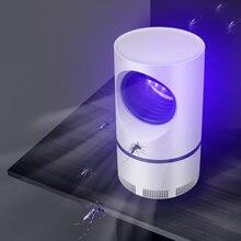 Светодиодный светильник убийца от комаров УФ ночник usb Электрический