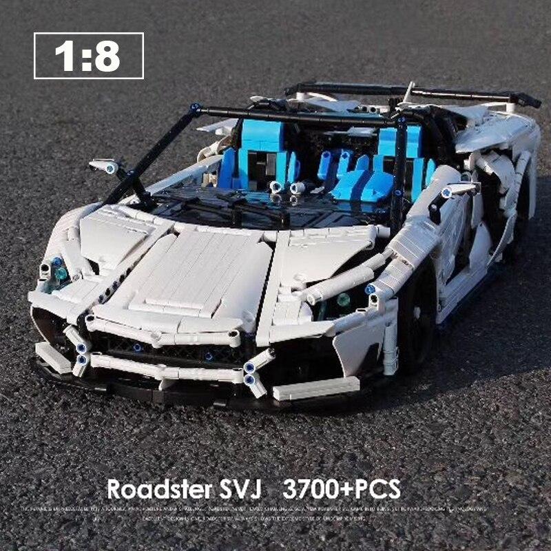 LZ2101 voiture de course technique MOC-17698 Super Sport voiture Supercar bloc de construction briques enfant jouets cadeaux de noël